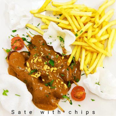 satay chips